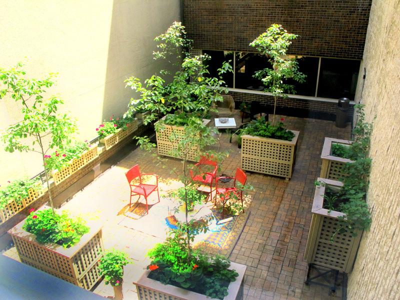 Second Floor Courtyard