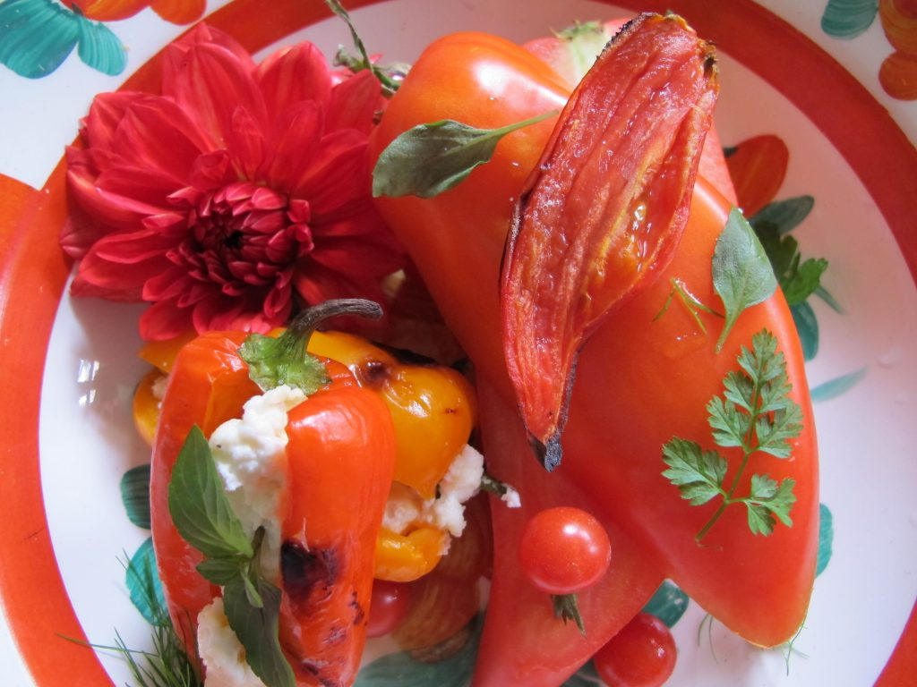 IMG_0402 pepper shaped tomatoes and stuffed peppers  from 2015-11-14 image 2